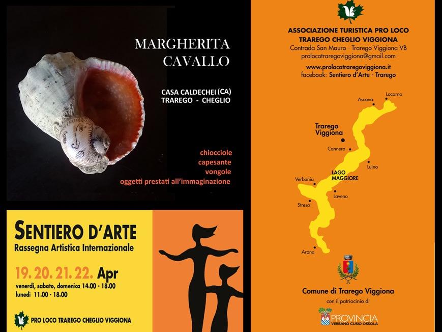TRAREGO - CHEGLIO  SENTIERO DELL'ARTE APRILE 2019