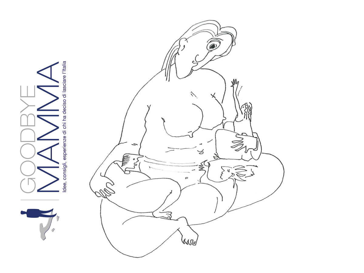 GOODBYE-MAMMA  E-BOOK  12 ILLUSTRAZIONI 2013