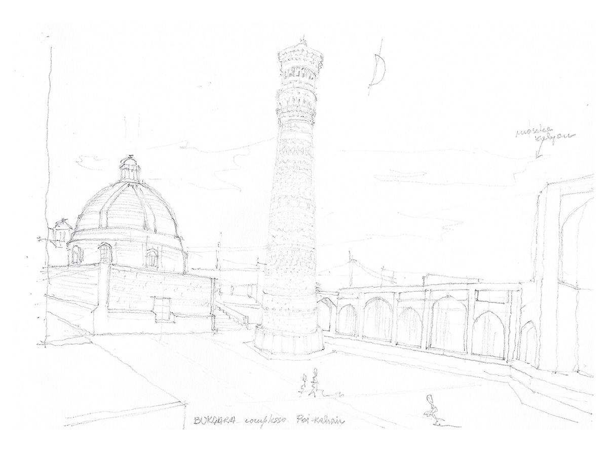 UTZBEKISTAN, Bukhara, giugno 2012, complesso Hodja Nasreddin sec XVII